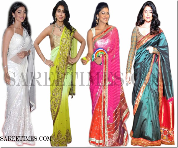 Shriya_Saran_Saree_Fashion