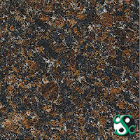 12x12 Tan Brown Polished Granite Tile
