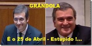 Grândola é o 25 de Abril - Estúpido!... oclarinet.blogspot.com Fev.2013
