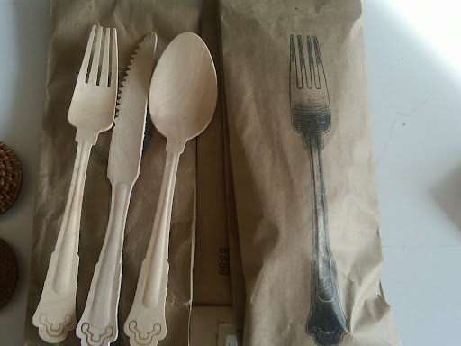 This was one of the flatware options from The Conran Shop.