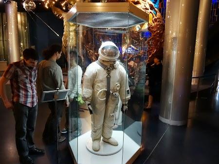 Muzeul Spatiului Moscova Costum cosmonaut