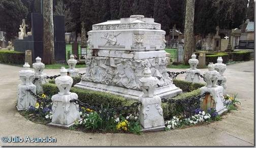 Mausoleo de Sarasate - Cementerio de Pamplona