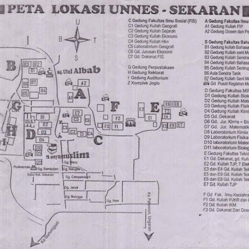 Jalan/Cara pergi ke UNNES Semarang dari Purbalingga