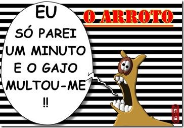 O ARROTO -MULTA