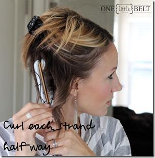 curl half way