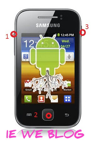 factory reset samsung galaxy ace gt s5830 to restore default