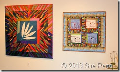 Sue Reno, Art Quilts, PAE Gallery