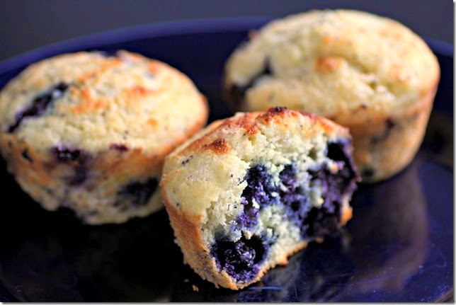 Blueberry Lemon Poppy Seed Muffins3