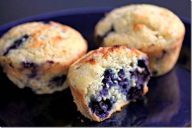 Blueberry Lemon Poppy Seed Muffins3