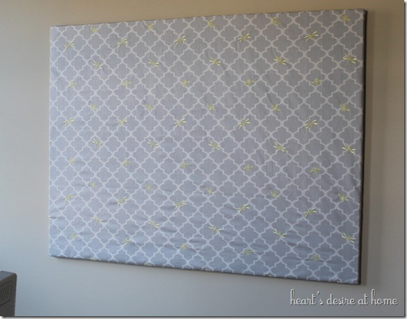 Fabric Bulletin Board