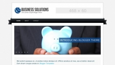 Business solutions blogger template 225x128