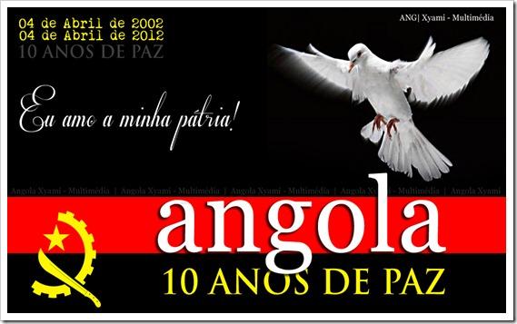 Angola 10 anos de paz e desenvolvimento