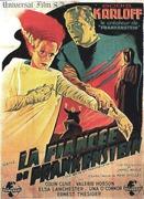 affiche la fiancée de frankenstein 1935