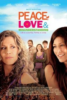 Poster Paz amor y malentendidos