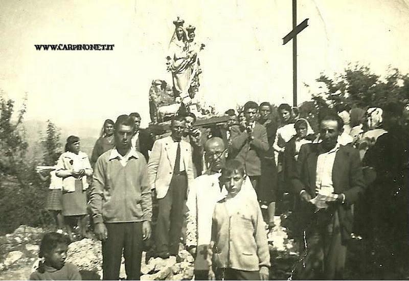 La Madonna delle Fontane, anni 60