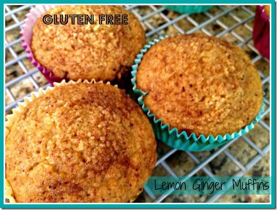 Gluten Free Lemon Ginger Muffins | BlogHer