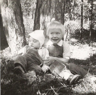 Carey and Connie Summer 1954