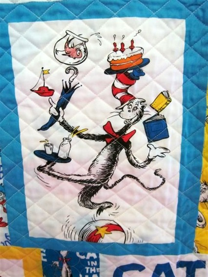 Cat in the Hat Quilt 2012 004