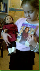 unboxing the American Girl Rebecca doll