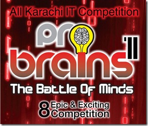 probrains, All Karachi IT Competition