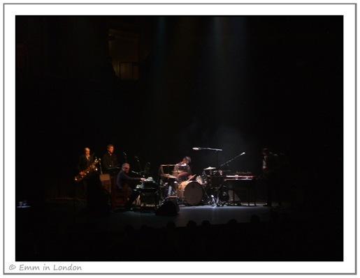 Supporting band PJ Harvey at Royal Albert Hall