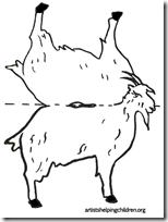goats-standups-bw