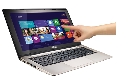 Laptop Touchscreen Windows 8