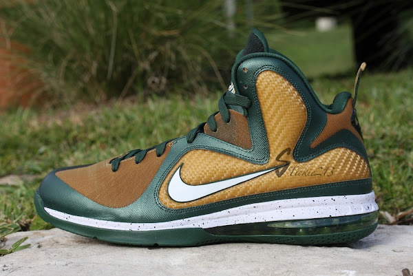 Nike LeBron 9 8220St Vincent 8211 St Mary8221 Away PE