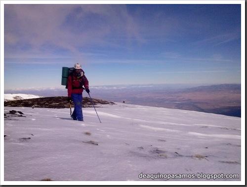 Picon de Jerez 3090m, Puntal de Juntillas y Cerro Pelao 3181m (Sierra Nevada) (Javi) 0212