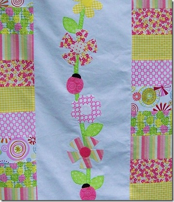 baby quilt applique2