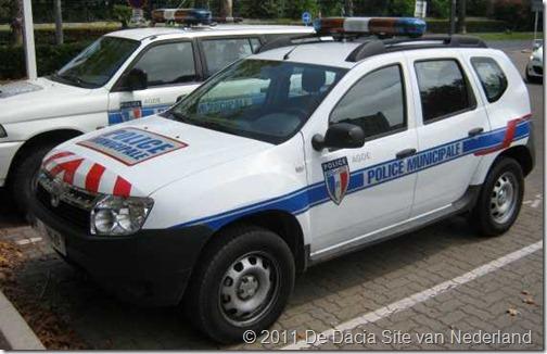 Dacia Duster Politie Frankrijk 01