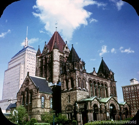 View-Master Boston (A726), Scene 10: Old Trinity Church