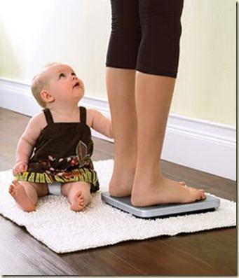 como bajar de peso despues del embarazo1