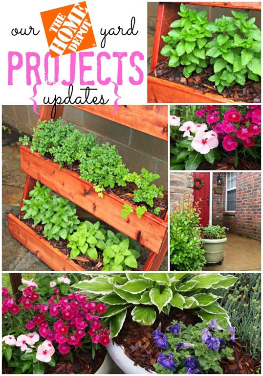 Our Yard Projects Updates with The Home Depot #digin #heartoutdoors #ad