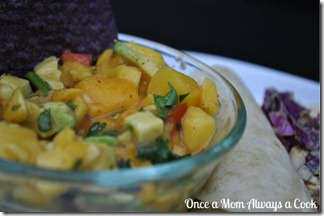 Mango Avovado Salsa