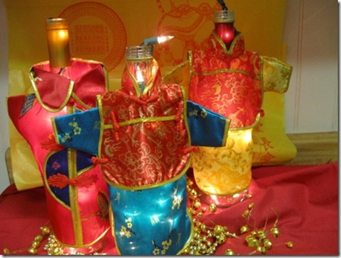 lighted wine covers for Chinese New Year