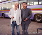 Reader Sumon Saha met Anupam Kher at Mumbai airport.