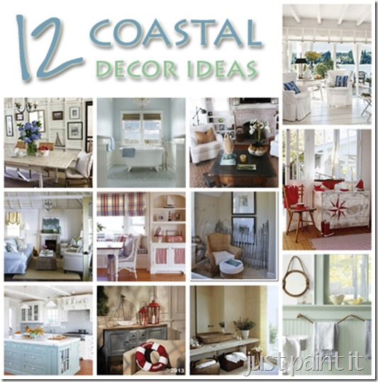 Coastal Décor Ideas - Just Paint It Blog