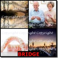 BRIDGE- 4 Pics 1 Word Answers 3 Letters