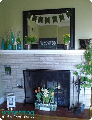 Spring Mantel Take 2