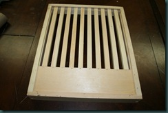 slatted rack