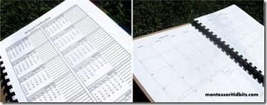 MT calendar planner