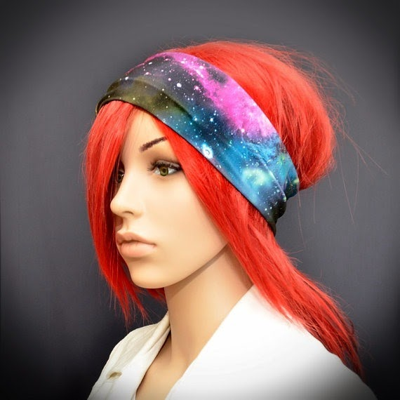 Galaxy Stretchy Headband from Pixies Dance
