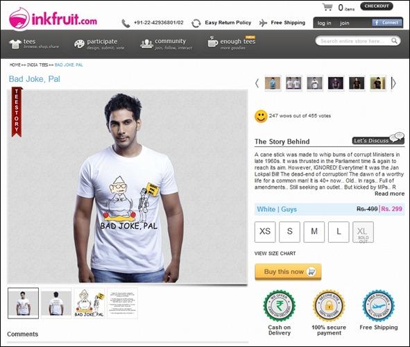 InkFruit - JokePal LokPal Bill Tees