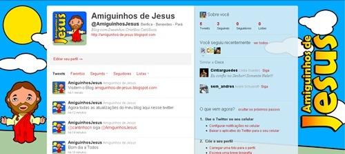 Siga @AmiguinhosJesus