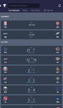 MSN Sports - Scores & Schedule APK screenshot thumbnail 13