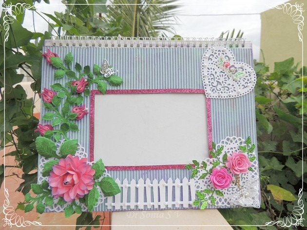 Quilled Photoframe  1