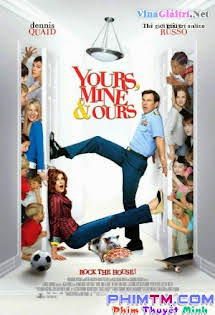 Con Anh, Con Em, Và Con Chúng Ta - Yours, Mine & Ours Tập 1080p Full HD
