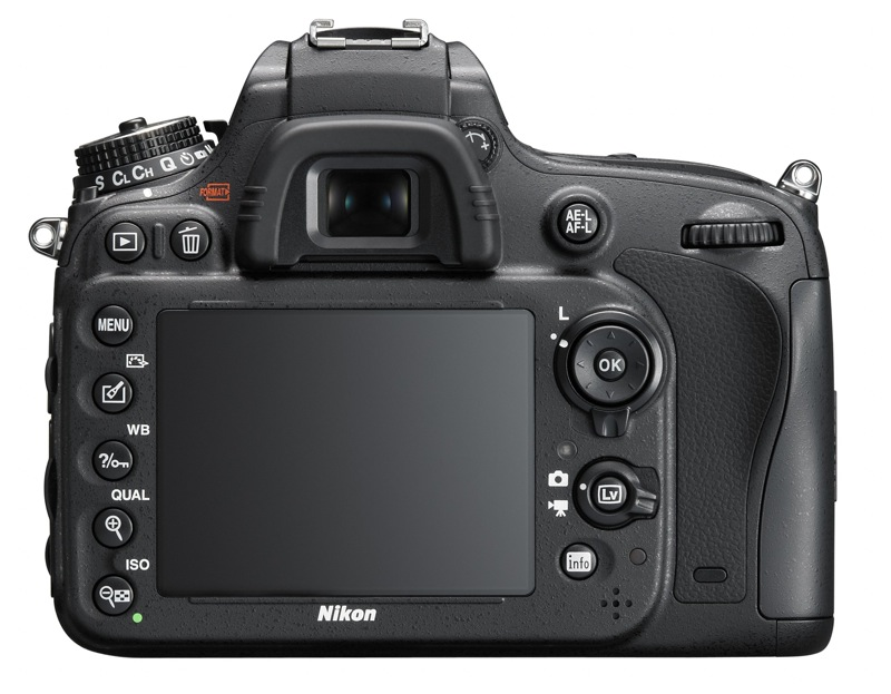 Nikon D600 DSLR Back