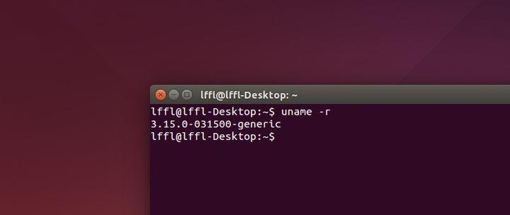 Kernel Linux 3.15 in Ubuntu